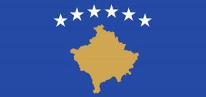 Flagge von Kosova